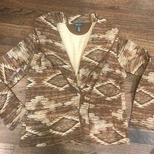 Ralph Lauren Cotton Western Jacket